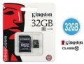 MICRO SD 32GB KINGSTON CLASSE 10