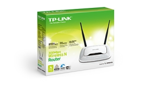 ROUTER TP LINK WIRELESS + SWITCH 4P TL-WR841ND.